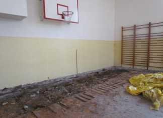Sala gimnastyczna w LO im. Kopernika - fot. Starostwo Powiatowe Będzin