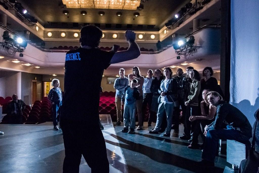 Dotknij Teatru Zagłębia – fot. Maciej Stobierski