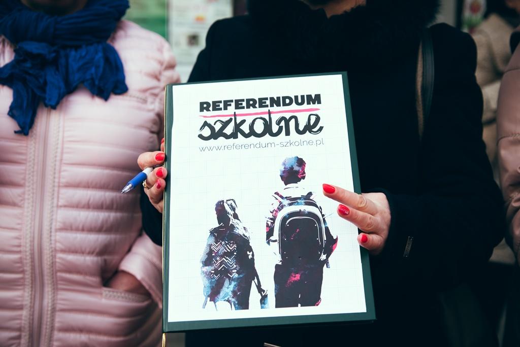 Protest w Sosnowcu - fot. Monika Gruszewicz