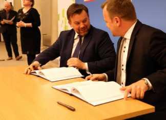 Podpisanie umowy na dofinansowanie do przebudowy DK94 - fot. Ministerstwo Rozwoju