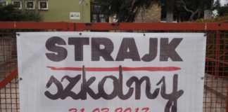 Strajk szkolny - fot. MC