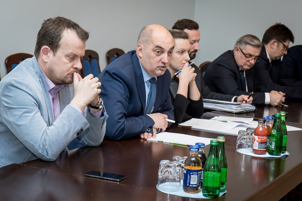 Spotkanie w sprawie przyszłości DTŚ Wschód - fot. Tomasz Żak/slaskie.pl