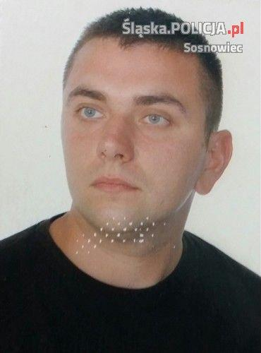 Zaginiony Piotr Starzak - fot. KMP w Sosnowcu