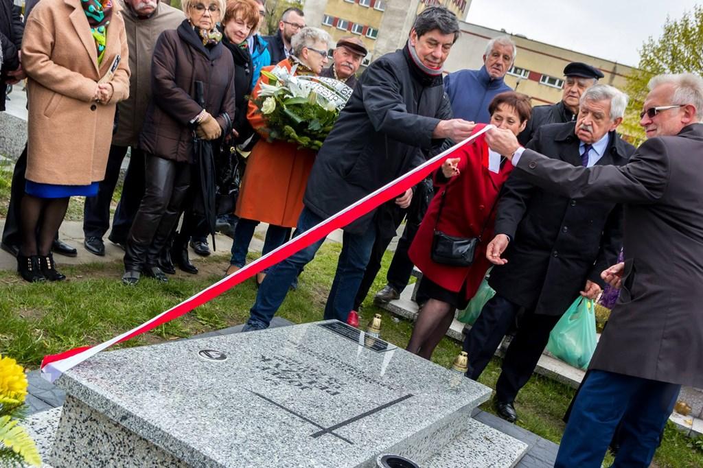 Grób Józefa Pelszyna – fot. UM Sosnowiec
