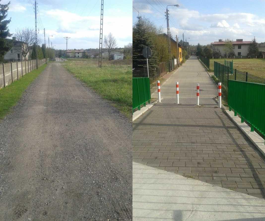 Ulica Gruntowa w Dąbrowie Górniczej - fot. archiwum prywatne