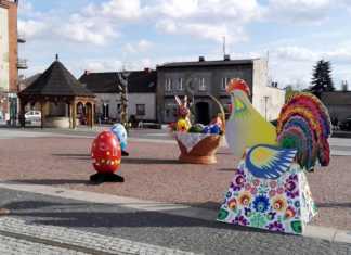 Świąteczne dekoracje na rynku w Czeladzi - fot. UM Czeladź