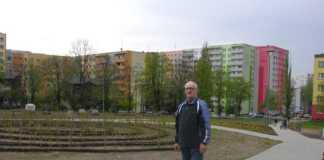 Mieszkaniec przez kilkanaście lat zabiegał o skwer przy Witosa - fot.AR