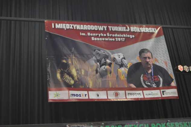 I Międzynarodowy Turniej Bokserskiej im. Henryka Średnickiego w Sosnowcu – fot. MZ