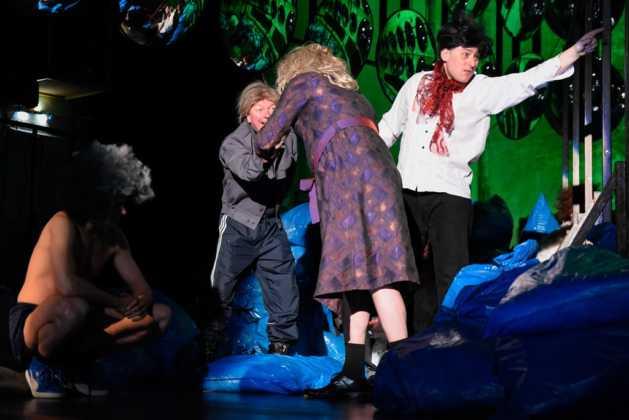 """Premiera """"Na dnie"""" w Teatrze Zagłębia – fot. Monika Gruszewicz"""