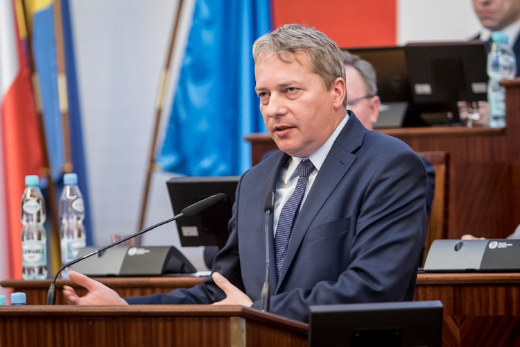 Sejmik za powstaniem metropolii - fot. BP Tomasz Żak
