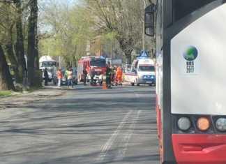Wypadek w Czeladzi - fot. Kamil Bigda/Informacje drogowe - Katowice i okolice