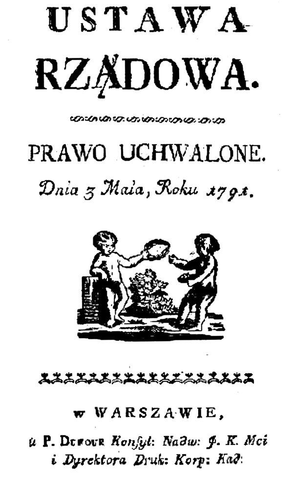 Konstytucja 3 Maja - fot. Wikipedia
