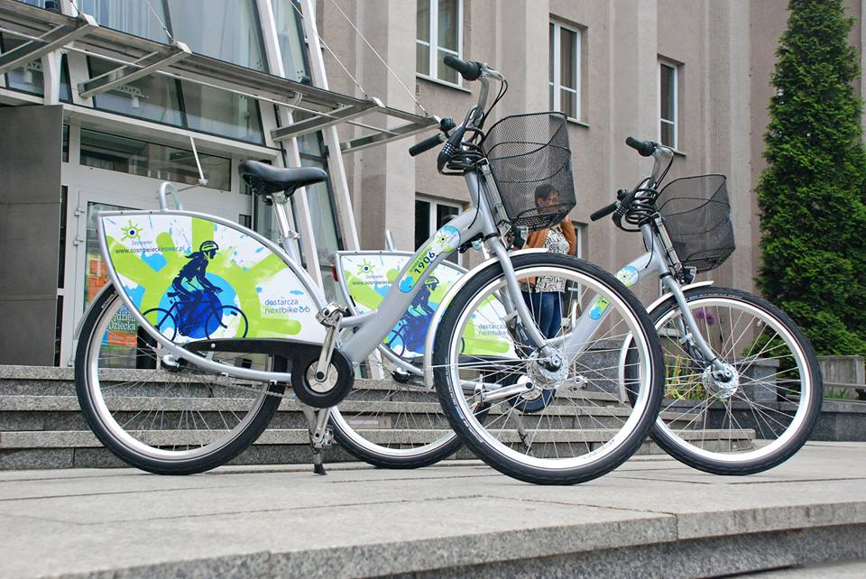 Rowery miejskie w Sosnowcu - fot. UM Sosnowiec