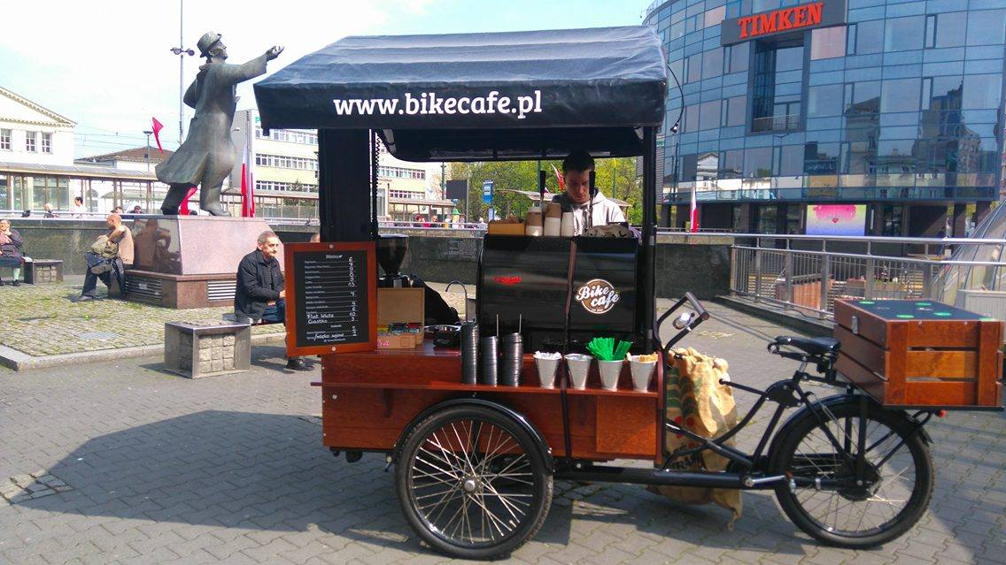 Bike Cafe - fot. mat. pras.
