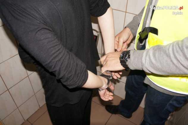 Zatrzymani sprawcy napadu - fot. KPP Będzin