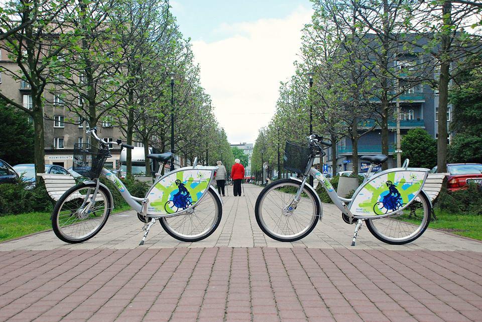 Rowery miejskie - fot. UM Sosnowiec