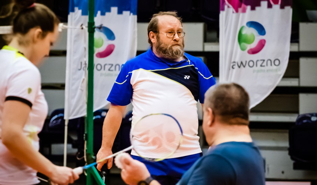 Badminton w Jaworznie - fot. KS Wolant