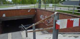Przejście podziemne przy rondzie Gierka w Sosnowcu - fot. MZ