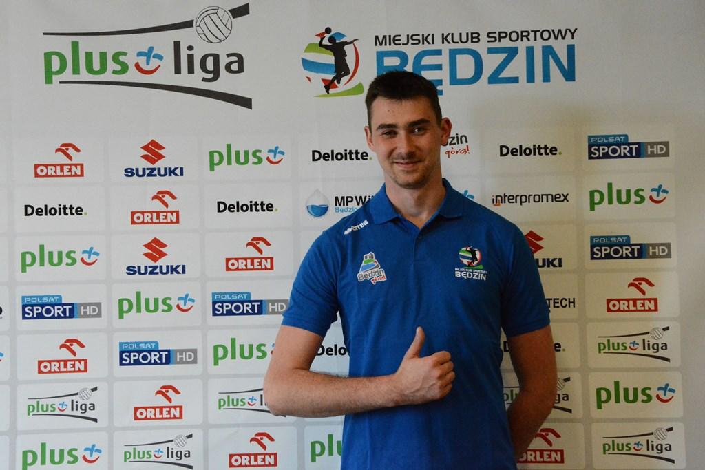 Rafał Faryna zawodnikiem MKS-u Będzin - fot. arch. klubu