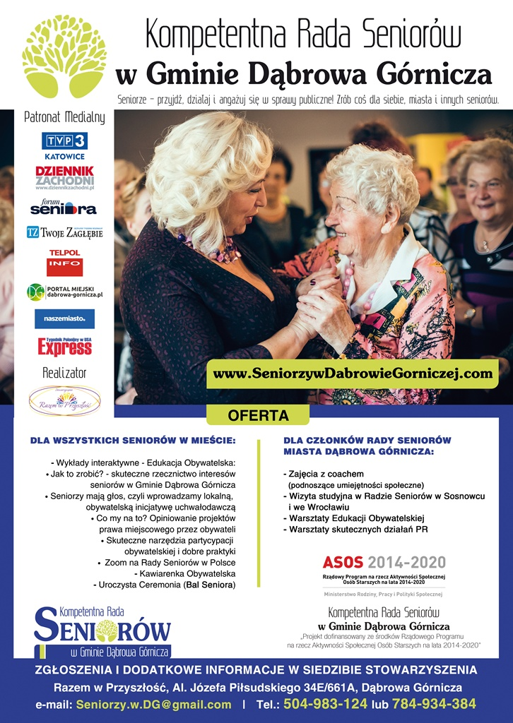 Kompetentna Rada Seniorów - fot. mat. pras.