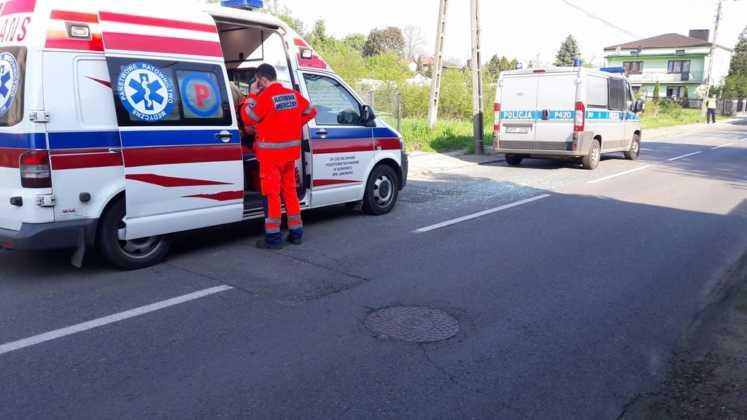 Stłuczka autobusów w Jaworznie - fot. Andrzej Bolek/Informacje drogowe - Jaworzno i okolice
