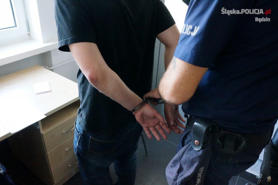 Zatrzymany - fot. policja