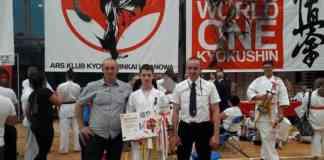 """VII Międzynarodowy Turniej Kyokushin """"One Word One Kyokushin w Limanowej - fot. mat.pras."""