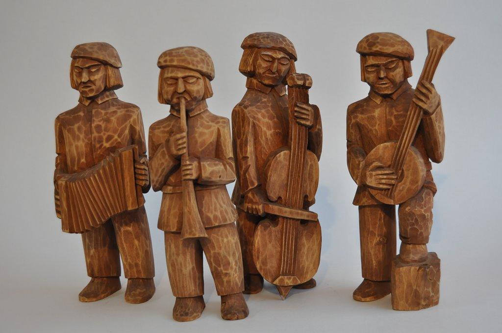 Rzeźba w drewnie Zagłębia Dąbrowskiego - fot. B. Gawlik