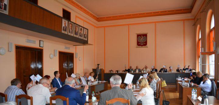 Sesja Rady Powiatu Będzińskiego -fot. Starostwo Powiatowe Będzin