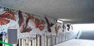 Odnowiono przejście i mozaiki w Sosnowcu - fot. MC