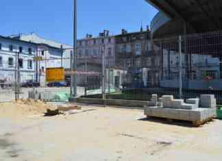 Remont targowiska w Sosnowcu – fot. MZ