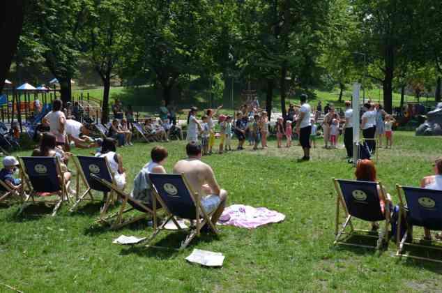 Piknik w Parku Sieleckim - fot. PL