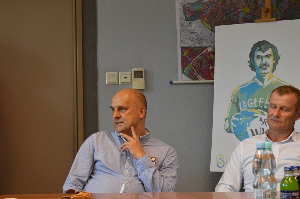 Jarosław Wojciechowski i Robert Stanek - fot. MZ