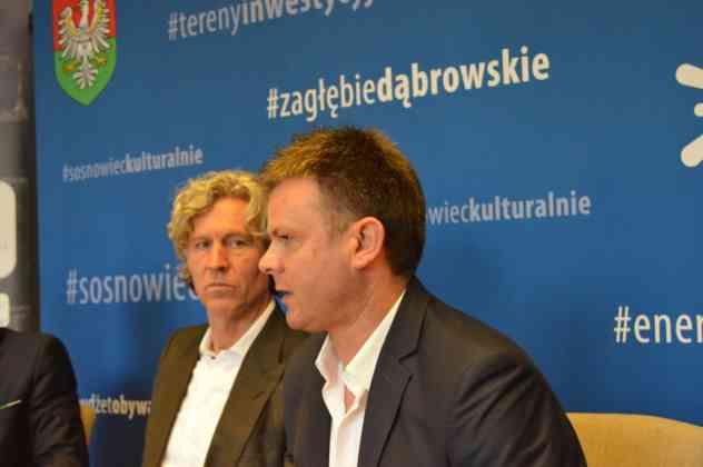 Właściciel i prezes Legii Warszawa Dariusz Mioduski w Sosnowcu - fot. MZ