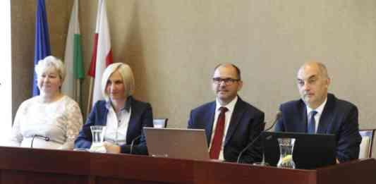 Paweł Silbert z absolutorium - fot. UM Jaworzno