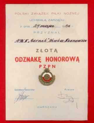AKS Górnik Niwka Sosnowiec – fot. arch. prywatne