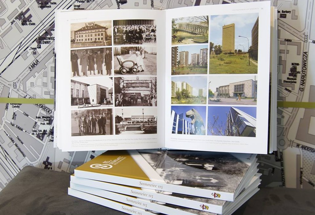 "Album ""115 lat Sosnowca"" - fot. CIM Sosnowiec"