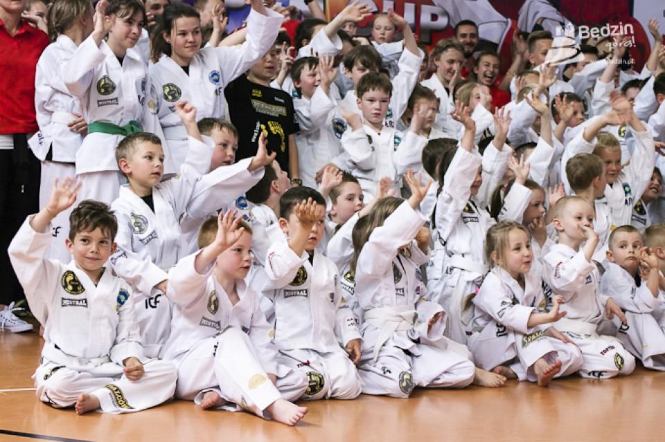 Otwarty Puchar Śląska Dzieci i Młodzieży w Taekwondo – fot. mat.pras.