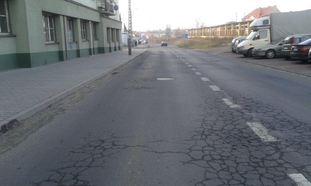 Przebudowa ulicy Sienkiewicza - fot. Katarzyna Maciejewska