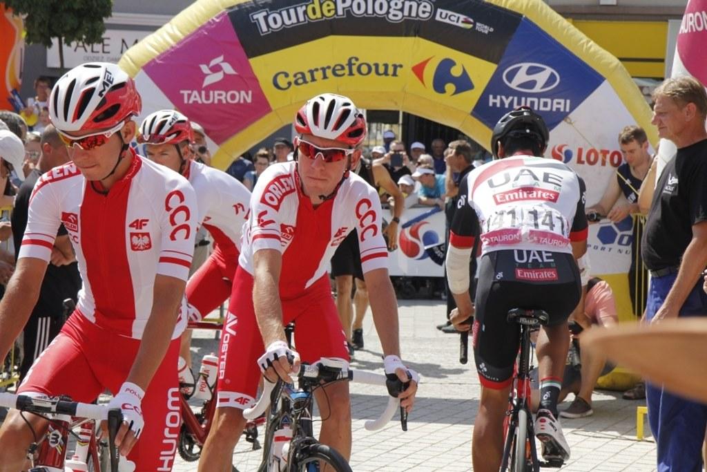 Tour de Pologne 2017 w Jaworznie - fot. UM Jaworzno