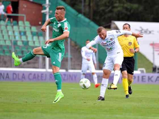 Zagłębie Sosnowiec - Olimpia Grudziądz 0:1 - fot. Maciej Wasik/zaglebie.eu