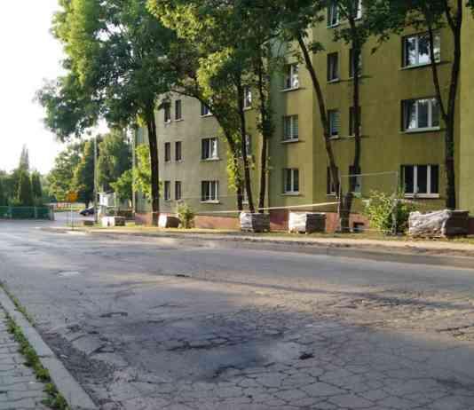 Ulica Lelewela Sosnowiec - fot. MC