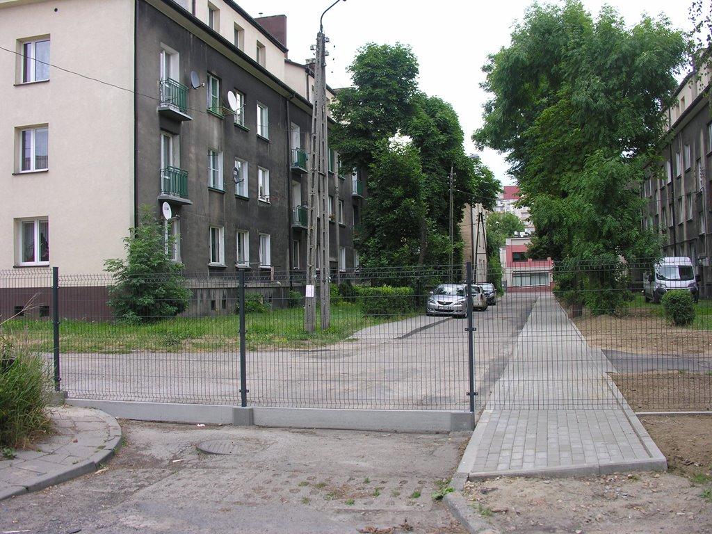 Droga zagrodzona przez Wspólnotę Mieszkaniową
