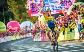 Rafał Majka w Tour de Pologne - fot. Szymon Gruchalski