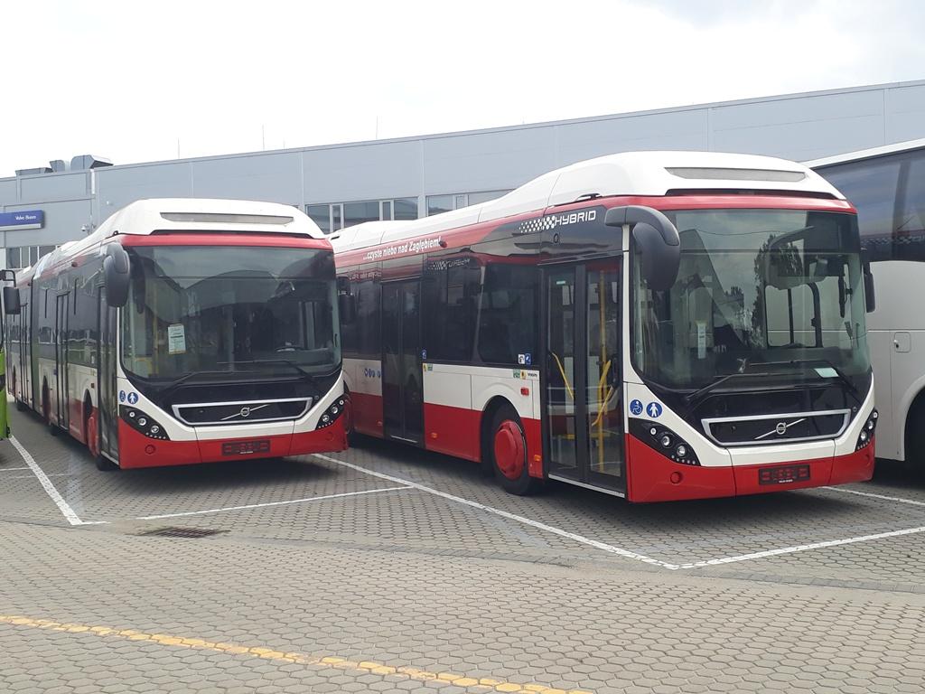 Autobusy hybrydowe Volvo dla Sosnowca - fot. mat. pras.