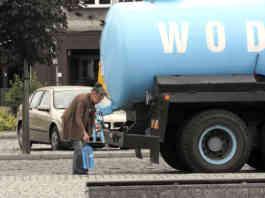 Skażenie wody w Będzinie - fot. arch. prywatne