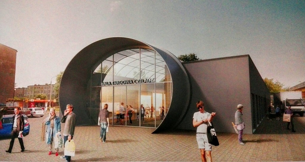 Nowa hala targowa w Czeladzi - fot. mat. UM Czeladź