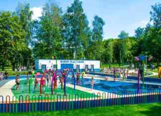 Wodny plac zabaw w Będzinie otwarty – fot. UM Będzin
