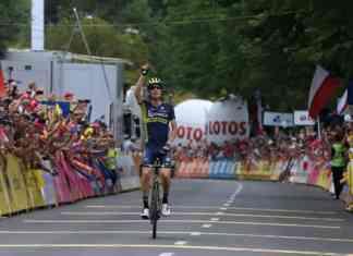 Jack Haig zwycięzcą szóstego etapu Tour de Pologne – fot. Szymon Gruchalski