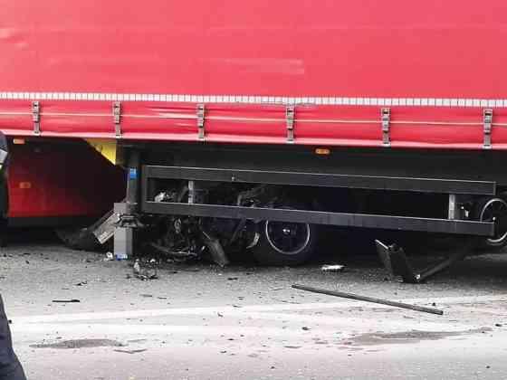 Wypadek w Dąbrowie Górniczej - fot. Sebastian Lemański/Dąbrowa Górnicza News